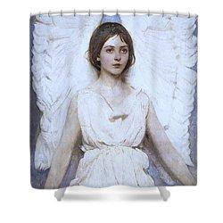 Abbott Handerson Thayer Angel 1886 Shower Curtain