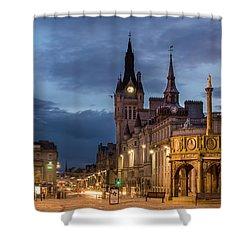 Aberdeen At Night Shower Curtain