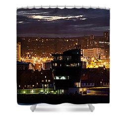 Aberdeen Skyline Shower Curtain