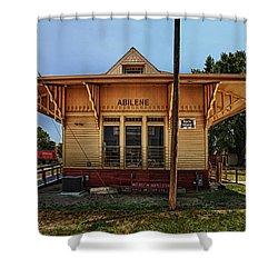 Abilene Station Shower Curtain