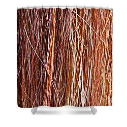 Ablaze Shower Curtain by Michelle Twohig