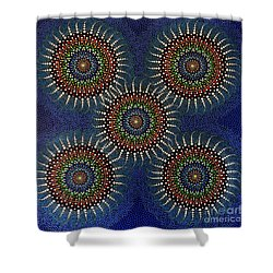 Aboriginal Inspirations 16 Shower Curtain by Mariusz Czajkowski