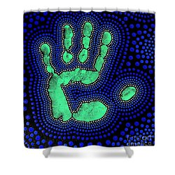 Shower Curtain featuring the photograph Aboriginal Inspirations 24 by Mariusz Czajkowski