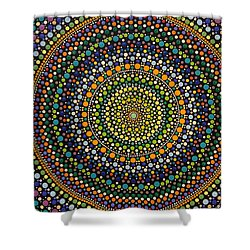 Shower Curtain featuring the photograph Aboriginal Inspirations 28 by Mariusz Czajkowski