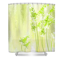 About Spring Shower Curtain by Lourry Legarde
