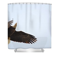 Above All Else Shower Curtain