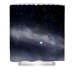 Shower Curtain featuring the photograph Above by Angela J Wright