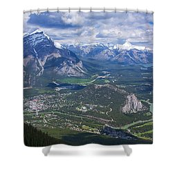 Above Banff Shower Curtain