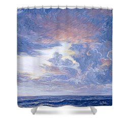Above The Horizon Shower Curtain