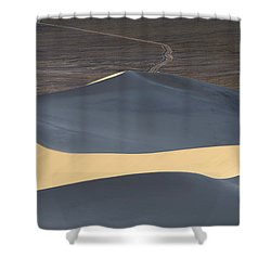 Above The Road Shower Curtain by Chad Dutson