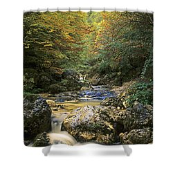 Abruzzo National Park In Italy Shower Curtain by George Atsametakis
