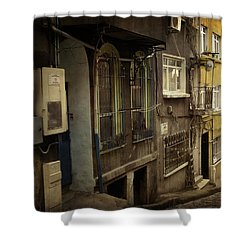 Absence 16.37 Shower Curtain by Taylan Apukovska