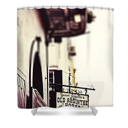 Absinthe House Shower Curtain