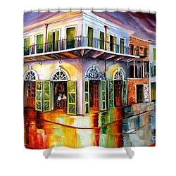 Absinthe House New Orleans Shower Curtain by Diane Millsap