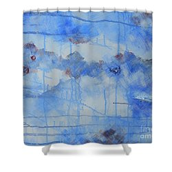 Abstract # 3 Shower Curtain by Susan Williams