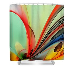 Abstract 040713 Shower Curtain