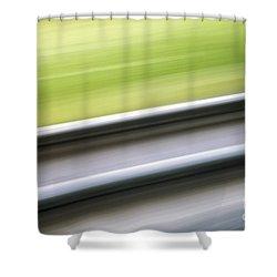 Abstract 12 Shower Curtain by Tony Cordoza
