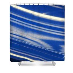 Abstract 14 Shower Curtain by Tony Cordoza