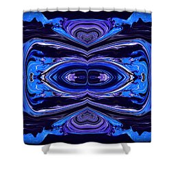 Abstract 175 Shower Curtain by J D Owen