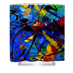 Abstract 39 Shower Curtain by John  Nolan