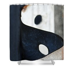 Abstract 5 Shower Curtain by Rick Mosher