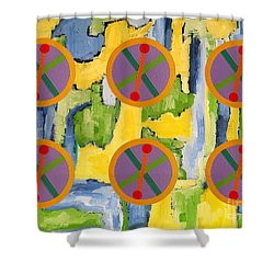 Abstract 82 Shower Curtain by Patrick J Murphy