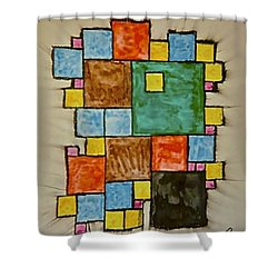 Abstract 89-003 Shower Curtain