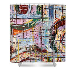 Abstract 9 Shower Curtain by Patrick J Murphy
