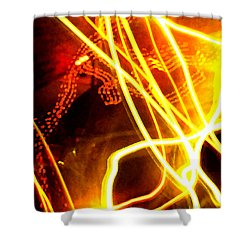 Abstract Shower Curtain by Amanda Barcon