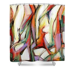 Abstract Art Forty-six Shower Curtain