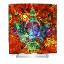 Abstract Series B5 Shower Curtain
