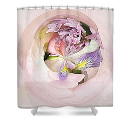 Abstract Bouquet Shower Curtain