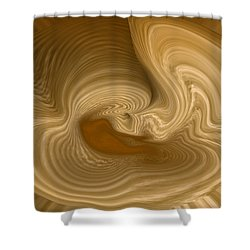 Shower Curtain featuring the photograph Abstract Design by Charles Beeler