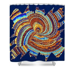 Abstract Fusion 176 Shower Curtain by Will Borden