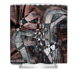 Abstract Graffiti 1 Shower Curtain