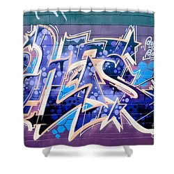 Abstract Graffiti Art Shower Curtain