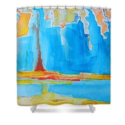 Abstract II Shower Curtain by Patricia Awapara