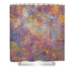 Abstract Impressions Shower Curtain