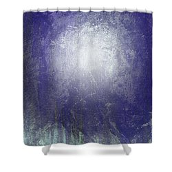 Abstract  Moonlight Shower Curtain by Filippo B
