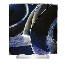 Abstract No.4 Shower Curtain