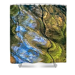 Shower Curtain featuring the photograph Abstract Of Nature by Kate Brown
