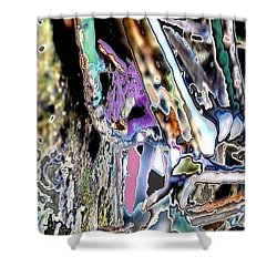 Abstract On Dream  Shower Curtain by Basant Soni
