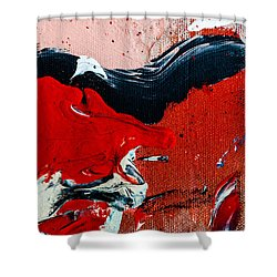 Abstract Original Artwork One Hundred Phoenixes Untitled Number Four Shower Curtain