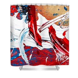 Abstract Original Artwork One Hundred Phoenixes Untitled Number Two Shower Curtain