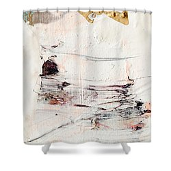 Abstract Original Painting Number Eleven Shower Curtain