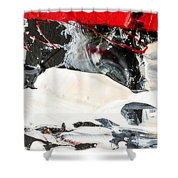 Abstract Original Painting Number Three Shower Curtain