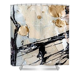 Abstract Original Painting Untitled Twelve Shower Curtain