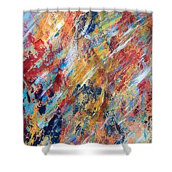 Abstract Painting Shower Curtain by AR Annahita