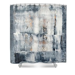 Abstract Painting No. 1 Shower Curtain by Julie Niemela