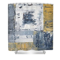 Abstract Painting No. 3 Shower Curtain by Julie Niemela